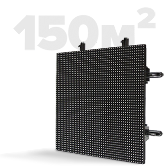 Modular LED screen 150 m2